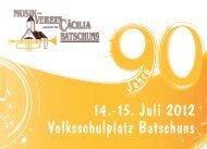 14.-15. Juli 2012 Volksschulplatz Batschuns