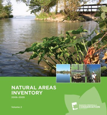 natural areas inventory - Niagara Peninsula Conservation Authority