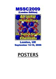 Poster Abstracts - Computational Science and Engineering ...