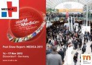 Post Show Report: MEDICA 2011