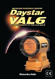 Daystar PH1 for 110V_230V - Pumps & Pressure Inc.