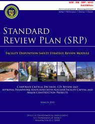 Facility Disposition Safety Strategy RM - U.S. Department of Energy
