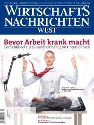 Ausgabe 03/2013 Wirtschaftsnachrichten West