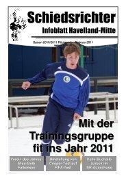 Mit der Trainingsgruppe fit ins Jahr 2011 - Schiedsrichter Havelland ...