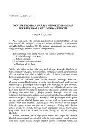 BENTUK KHOTBAH NARASI: MENGKHOTBAHKAN TEKS ... - SAAT