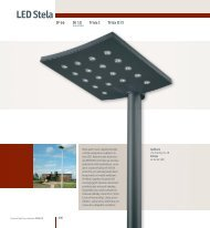 Katalogový list LED Stela Square, Wide a Long - Indal