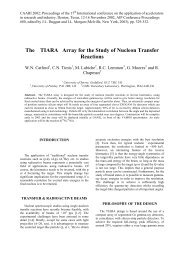 The TIARA Array for the Study of Nucleon Transfer Reactions
