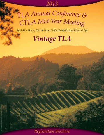 Vintage TLA - Transportation Lawyers Association