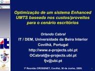 Optimização de um sistema Enhanced UMTS baseada nos ... - UBI