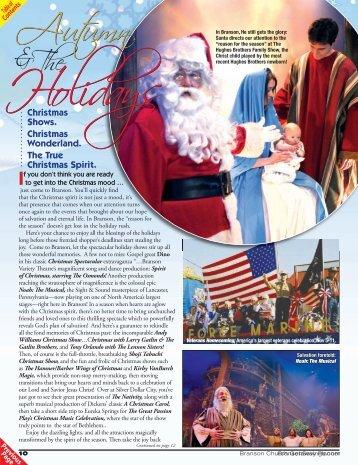 Branson Christmas Shows - Branson Savings .Com