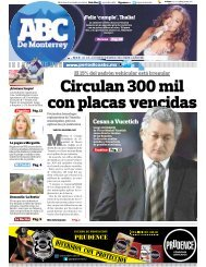 Circulan 300 mil con placas vencidas - Periodicoabc.mx