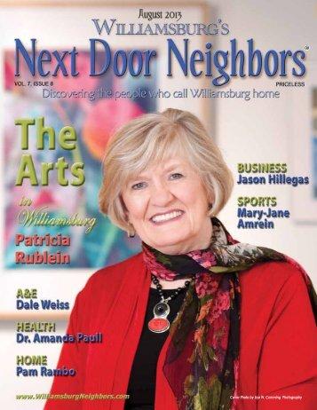 sited - Williamsburg , VA Magazine , Next Door Neighbors