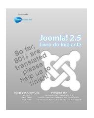 Joomla! 2.5 - Livro do Iniciante - UFRB