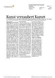 St. Galler Tagblatt - Bad Ragartz