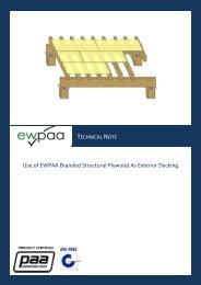 Technical Note - Exterior Decking - Engineered Wood Products ...