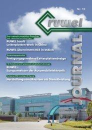 Aus den RUWEL-W erken - RUWEL International GmbH