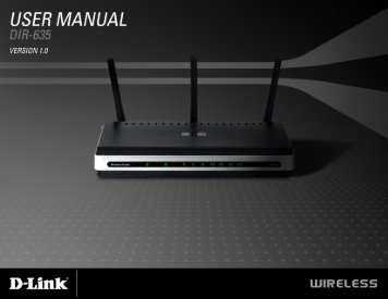 D-Link DIR-635 User Manual