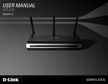 D-Link DIR-635 User Manual