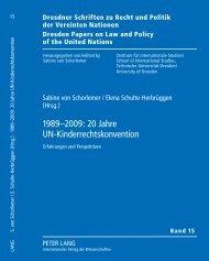1989-2009: 20 Jahre UN-Kinderrechtskonvention