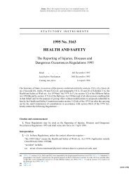 Reporting of Injuries, Diseases and Dangerous Occurrences - VERTIC