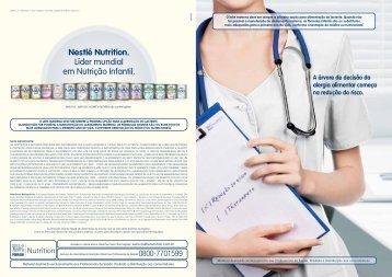 Nestlé Nutrition. Líder mundial em Nutrição Infantil.