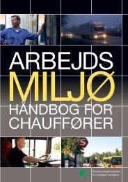 Arbejdsmiljøhåndbog for chauffører - BAR transport og engros