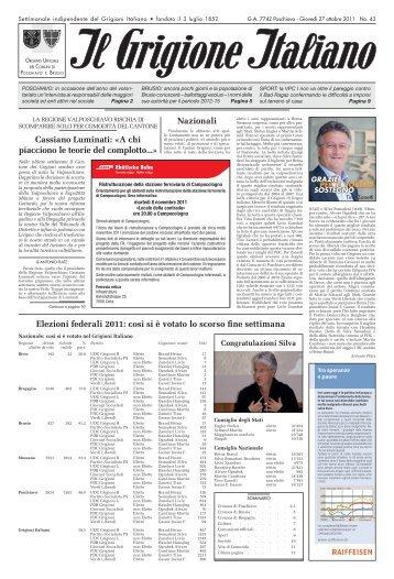 POSCHIAVO - IlGrigioneItaliano.ch