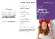 Narrabeen Vacation Care - Pittwater Council