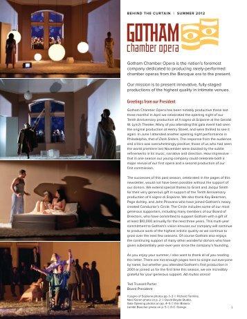 Lembit Beecher - Gotham Chamber Opera