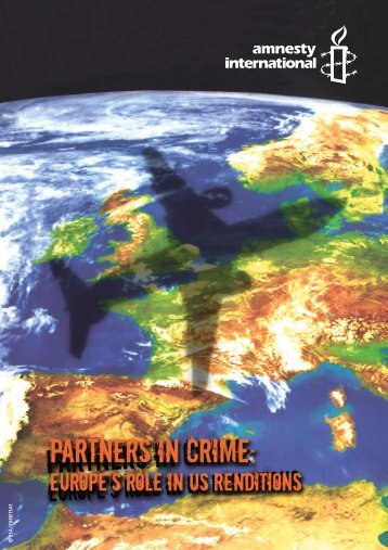 Partners in Crime: Europe's role in US renditions - Statewatch
