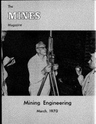 The Magazine - Mines Magazine - Colorado School of Mines