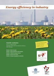 Energy efficiency in industry - IVPV - Instituut voor Permanente ...