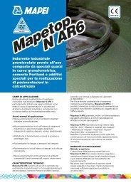 Mapetop N AR6 Mapetop N AR6 - Crocispa.it