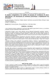 Il programma - Ordine dei Medici di Messina