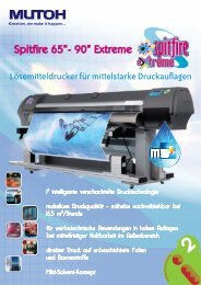 Mutoh Spitfire 65/90 Extreme - F. Huhn & Sohn GmbH