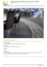 Scarica la scheda tecnica della linea prodotto MODULE ... - Infobuild