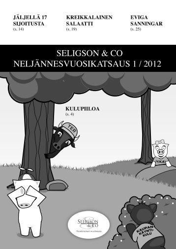 katsauksessamme 1/2012 - Seligson & Co