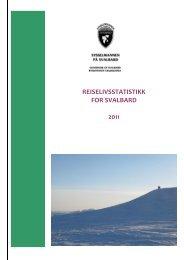 Ferdsel knyttet til turisme på Svalbard - Sysselmannen