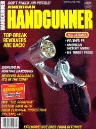 March/April 1983 - American Handgunner