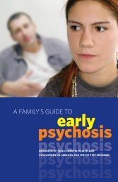 A Family's Guide to Early Psychosis - Canadian Mental Health ...