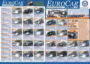 Sıfır ve Kullanılmıs Araç Galeriniz - Eurocar Landshut