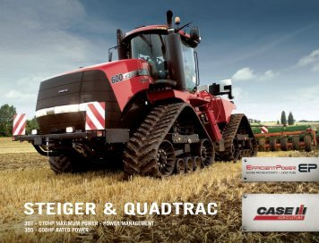 Steiger and Quadtrac Brochure - Case IH