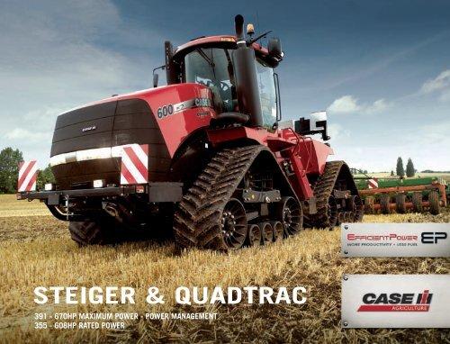 Steiger and Quadtrac Brochure - Case IH