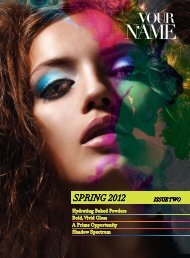SPRING 2012 - Your Name Professional Brands