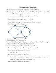 Shortest Path Algorithm ( )