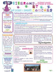 Biberons et couches PDF - Gruissan