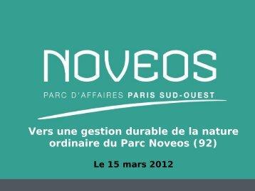 Parc d'affaire Novéos - Agence régionale pour l'environnement ...