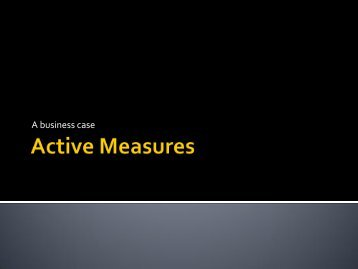 11. Active Measures - KCDC Career Services