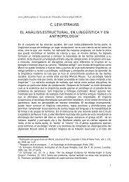 El Analisis Estructural - Philosophia.cl