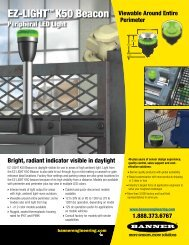 EZ-LIGHT K50 Beacon - Banner Engineering